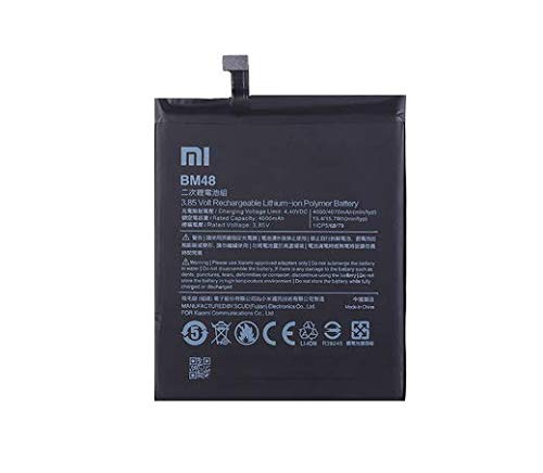 Asun Mobile Battery Compatible with Xiaomi Redmi Mi Note 2 Model BM48 4000mAh
