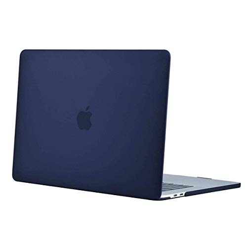 Aavjo MacBook Pro 16 inch with Touch Bar Case 2020 2019 Release Model A2141 (MVVJ2LL/A, MVVL2LL/A, MVVK2LL/A, MVVM2LL/A) Soft Touch Plastic Hard Shell (Navy Blue)
