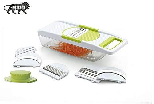 NYAL ENTERPRISE NYAL's 6 in 1 Vegetable-Fruit Slicer Maker Multi Purpose Slicer Multi Colors