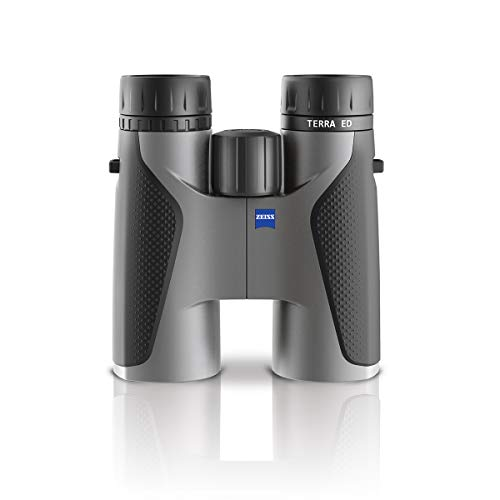 ZEISS 524204 9907 10 x 42mm Terra(R) ED Binoculars (Cool Gray)