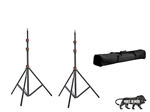 Simpex Light Stand Kit with a Pair of Light Stands and a Carry Bag