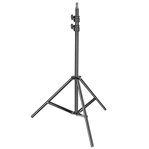 BRANDSUN Proffesional 2.7 Meters (9-Feet) Tripod Stand, Umbrella Flash Foldable Light Stand for Reflectors, Softboxes, Photography, YouTube Videos, TIK tok Videos, Photo Shoot & Video Shooting