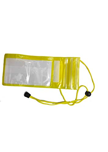 Avneesh Waterproof Transparent Mobile Cover/Pouch, Underwater Dry Bag Compatible to All Smart Phone Screen
