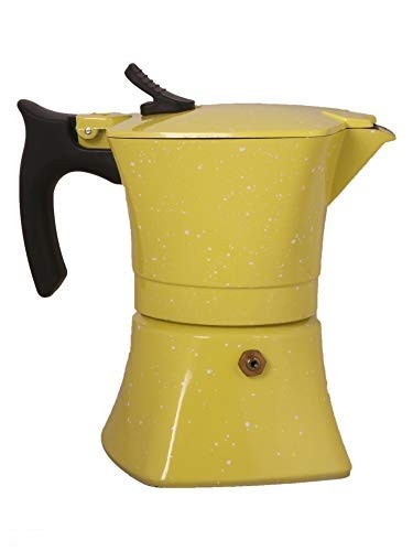 3d Creations 3dCreations Aluminium 3 Cups Aluminum (Polished) South Indian Filter Degree Kaapi/Coffee Machine or Percolator/Perculator Or Italian Espresso Or Decoction Coffee Maker Cup or Moka/Mocha Maker