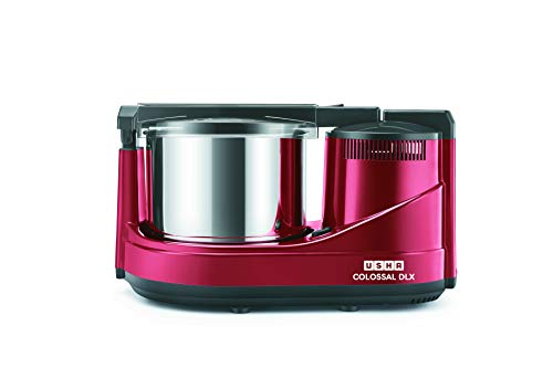 Usha Colossal DLX Wet Grinder 150-Watt, 2.0 LTR with Copper Motor(Red)