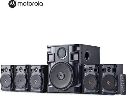 Marq Motorola AmphisoundX with HDMI Arc 150 W Bluetooth Home Theatre (Black, 5.1 Channel)