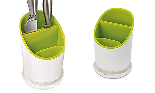boxwish️ Boxwish® Kitchen Home Dry Cutlery Holder Strainer Drainer Spoon Fork Organizer Dryer Storage Dock -Pink