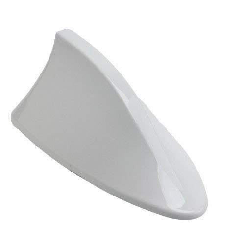 Guance Car Shark Fin Roof Antenna Car Antenna Radio FM/AM Car Accessories Decorate White for Hyundai Aura