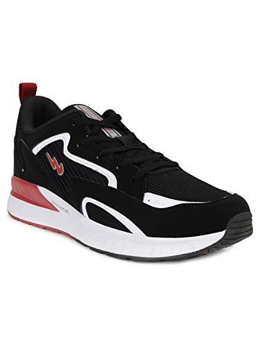 Campus Men's NIOS BLK/WHT Running Shoes