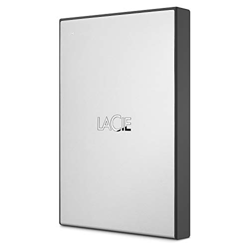 LaCie USB 3.0 1TB External HDD for Windows and Mac - Portable Hard Drive with 1 Month Adobe CC All Apps Plan (STHY1000800)