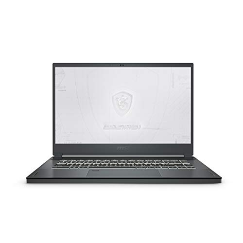 "MSI WS66, Intel 10th Gen. i7-10750HH, 15.6"" FHD Workstation Laptop (32GB/1TB NVMe SSD/Windows 10 Pro/Nvidia Quadro RTX3000/Grey/2.1Kg), 10TK-427IN"