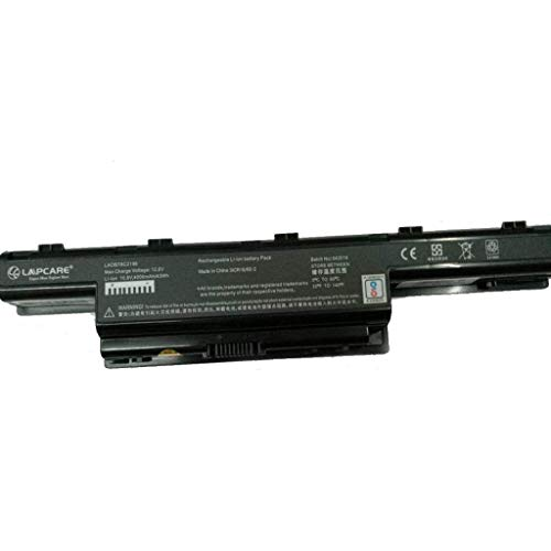 LAPCARE 10.8V 4000mAh 6 Cell BIS Certified Compatible Lithium-ion Laptop Battery for ACER Aspire 4253 4552 4738 and 471G Series