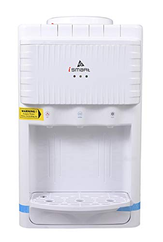 iSMART Table Top Hot, Normal & Cold Water Dispenser Water Dispenser, White
