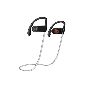 Generic Bluetooth Wireless Earphone Sports Noise Cancellation Waterproof Headset (Gold)