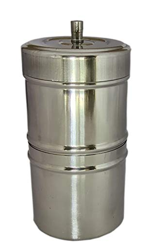 CooPany™ Stainless Steel Filter Coffee Maker, Coffee Maker 250 ml