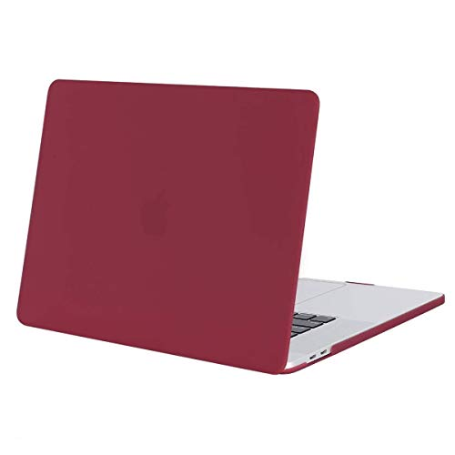 Aavjo MacBook Pro 16 inch with Touch Bar Case 2020 2019 Release Model A2141 (MVVJ2LL/A, MVVL2LL/A, MVVK2LL/A, MVVM2LL/A) Soft Touch Plastic Hard Shell (Wine Red)