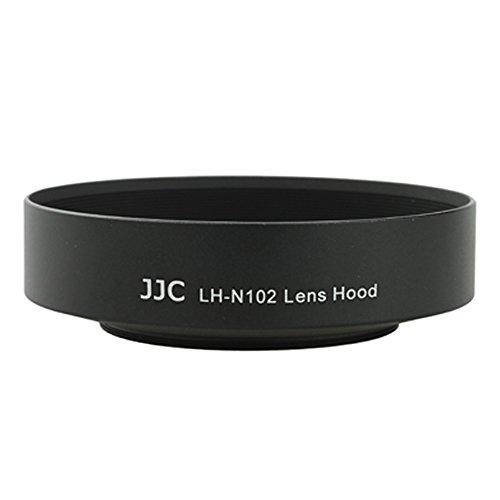 JJC LH-N102 Bayonet Lens Hood Shade For Nikon 1 Nikkor 11-27.5mm f/3.5-5.6 lens Replaces Nikon HN-N102