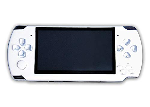 Medaline White PSP gaming console with Music, Alarm, videos MD_293