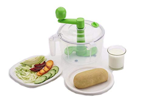 One Stop Shop Slings Dough/Atta Maker Must for Every Kitchen, Green
