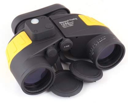 Lista Binocular 10X50 Compass & Range Finder Reticule Yellow Colour