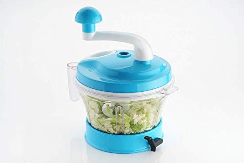 M7STORE Food processor Manual 11 In 1 Chopper , Slicer , Grater , Dough Maker , Veggie Cutter , Grinder , Mixer Vacuum Base For Kitchen (Multicolor)