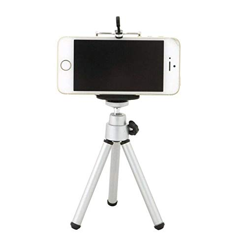ELECTROPRIME Tripod Stand Smartphone Holder with Tripod Screw Hole Compatible with iPhon C5K3