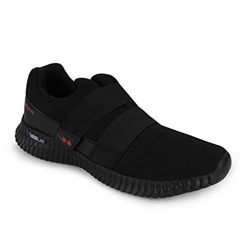 Campus Men's S-Cross Full Blk Running Shoes-7 UK (41 EU) (CG-110)