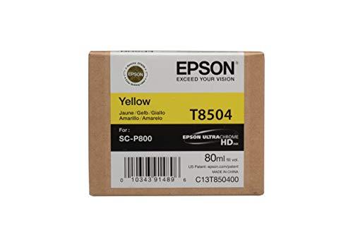 Epson UltraChrome HD T850 Ink Cartridge - Yellow T850400