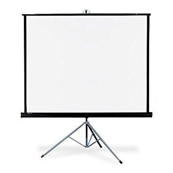 "F-Pro Tripod Projector Screen 8ft x 6ft (120"" D)"