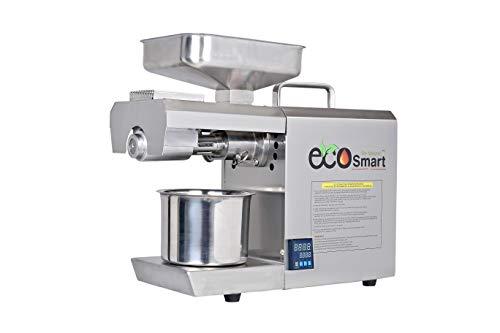 EcoSmart 03 TC 600 Watt Organic Oil Press Machine for Home Use (Silver)