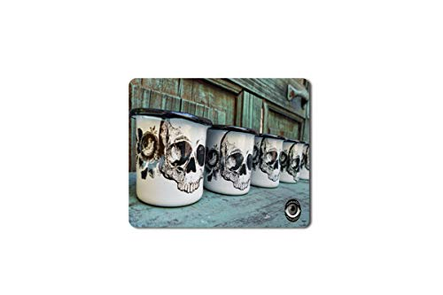 5 Ace Skull Mugs Printed Designer Speed Mouse pad for PC/Laptop |7x8.5 Inches