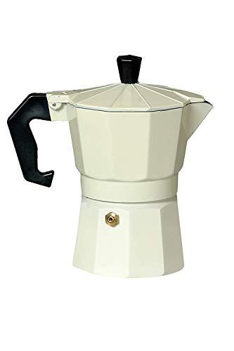 3d Creations Aluminium (Polished) South Indian Filter Degree Kaapi Coffee Machine or Percolator Perculator Or Italian Espresso (9 Cup 450 ML, White)