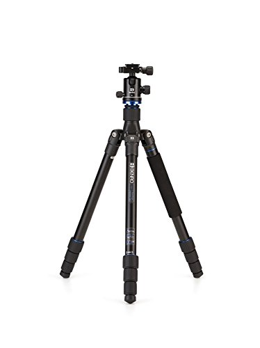 Aluminum , 2 Series/ 4 Section Kit w/ B1 Head : Benro Travel Angel 2 Series Aluminum Tripod w/ B1 Ball Head (FTA28AB1)