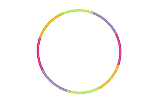 RP Hula Hoops Rubber Rings for Kids (Multi Color)