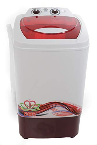 DMR 6.5 kg Portable Semi Automatic Top-Loading Washing Machine (Only Washer - No Dryer) (DMR OW-65A, White)