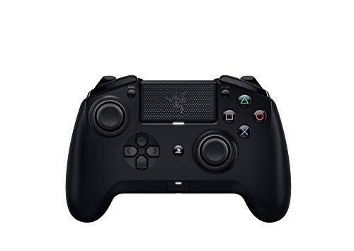 Razer RZ06-02610100-R3G1 Raiju Tournament Edition Wireless and Wired Gaming Controller with Mecha Tactile Action Buttons, Interchangeable Parts and Quick Control Panel, Black