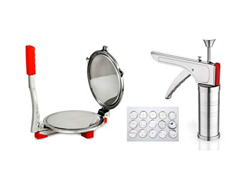 Enerex The Kitchen Mall, Stainless Steel Kitchen with Puri Press Combo Standard Size