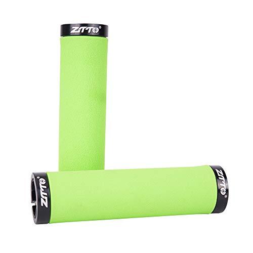 KKmoon-1 22.2mm Bicycle Handlebar Grips Anti-Slip Sponge Foam Handle Bar Grips Cycling MTB Mountain Bike Grips