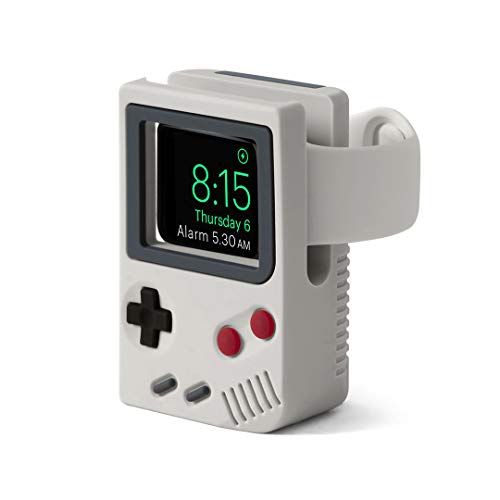 DailyObjects Gameboi - Night Stand Dock Designed for Apple Watch - Off White