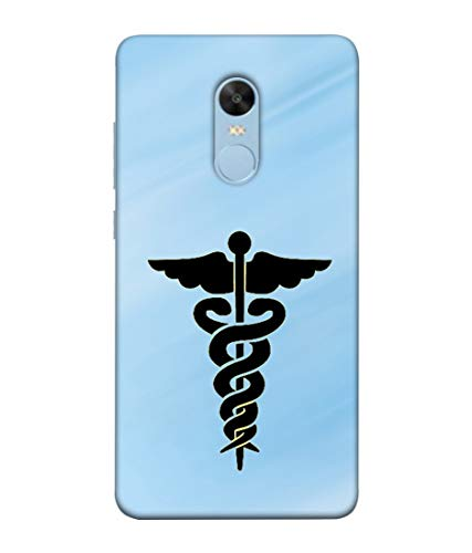 S SMARTY Designer Printed Plastic Mobile Back Case Cover for Redmi Note 4 (Sky Blue Medical Symbol)