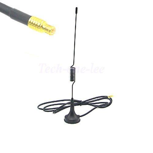 Generic 5pcs 2. 5dbi 1090Mhz Antenna MCX Male Plug Modem Router ADS-B Connector
