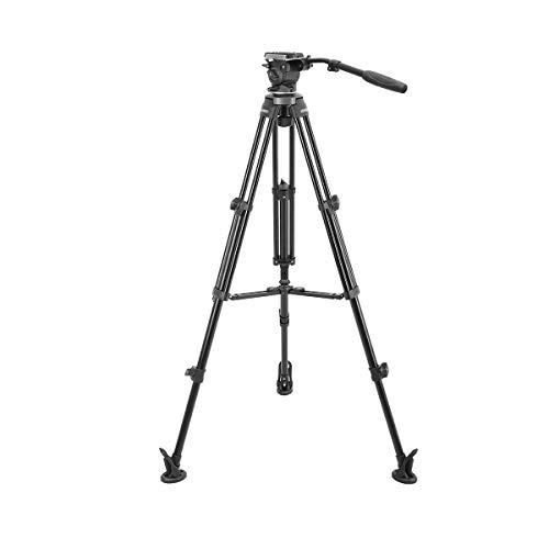 Simpex E-Image Tripod EK 630 New Series Fluid Head Professional Tripod for SLR Cameras