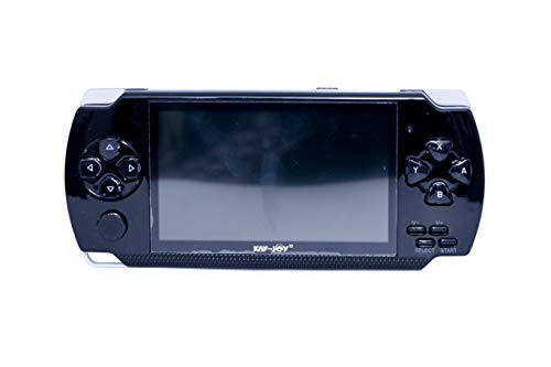NEXTTECH Kay-Joy PSP 2021 MP4 Player with Built-in 8GB Memory with Many Games (Black)