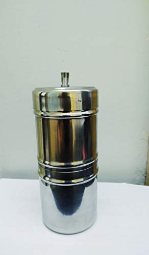 Beans N Brews Stainless Steel Filter,South Indian Filter Coffee, Drip Maker 2 Cup;150ml