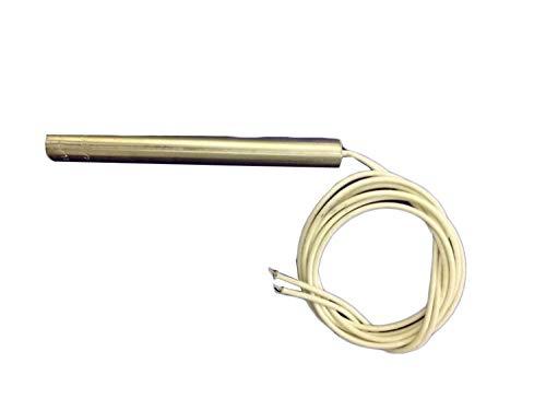 Heaters Hub Stainless Steel Cartridge Heater (8mmD x 50mmL_Silver)