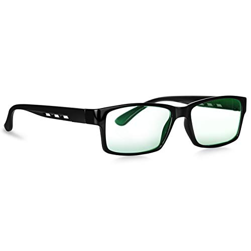 Criba Square Unisex Blue Cut Spectacles With Anti-glare for Eye Protection (Zero Power)