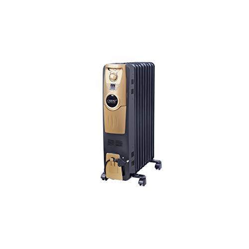 Orpat OOH-9 Plus 2000-Watt Oil Heater (Black)
