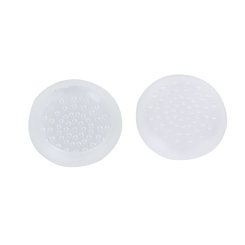 Microware Pair of Joystick Cap Button covers for Microsoft Xbox ONE controller--White