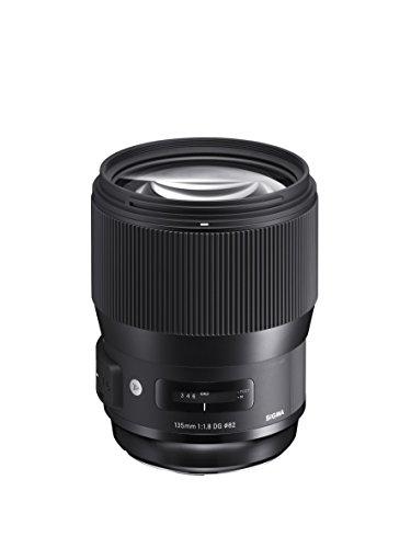 Sigma 135 mm f/1.8 DG HSM Art Lens for Canon DSLR Cameras (Black)