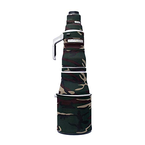 Tuskr Lensshield Lens Cover for Canon EF 600mm f/4L is III USM (Greenland Camouflage)